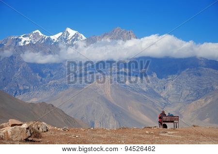 Himalaya landscape