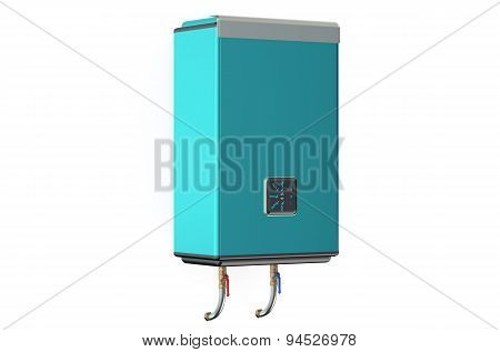 Blue Modern Automatic Water Heater
