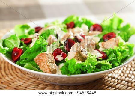 Chicken Salad With Cherries