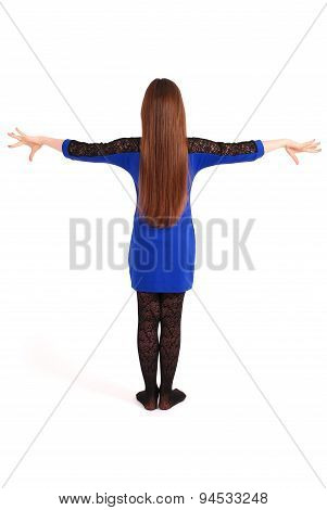 Girl With Beautiful Natural Brown Hai