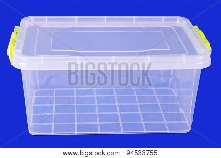 Food Plastic Box (clipping Path)