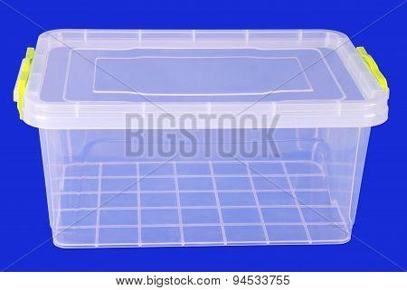 Food Plastic Box (clipping Path)