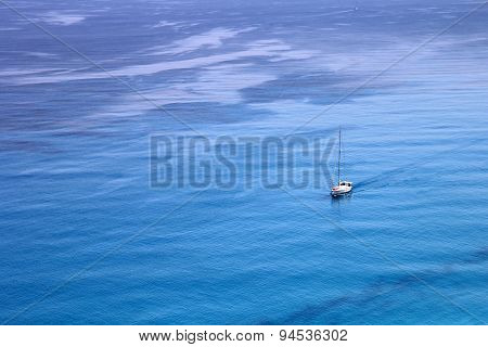 Aerial View of Ionian Sea