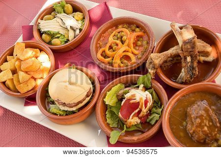 Tapas In Andalucia (spain)