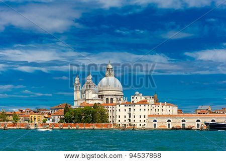 View from the sea to Venice lagoon, Italia