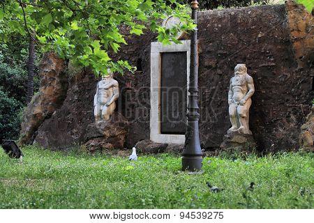 Ancient XVII Century Magic Portal