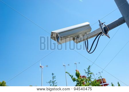 cctv in urban resident district