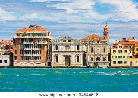 Church Spirito Santo in Venice, Italia
