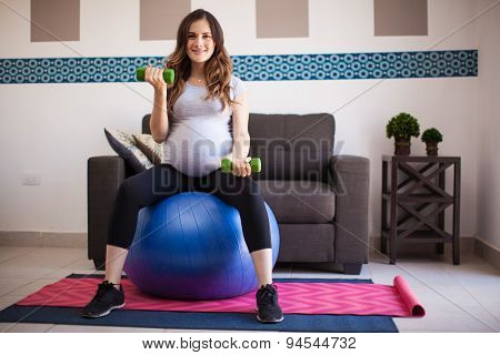 Exercising And Expecting A Baby