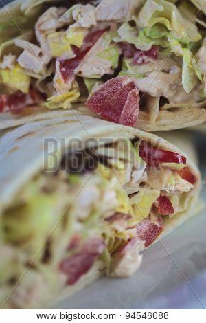 Wrap Sandwich - Vertical