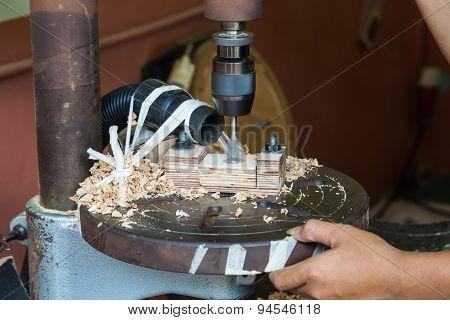 Wood Boring Drill Press