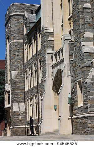 White-Gravenor Hall of Georgetown University Washington DC USA.