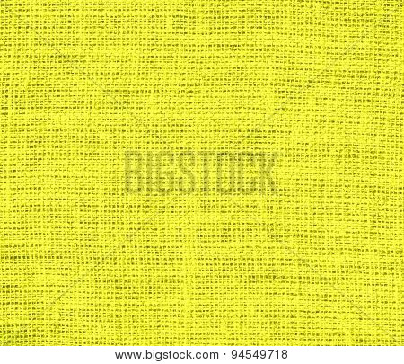 Daffodil burlap texture background