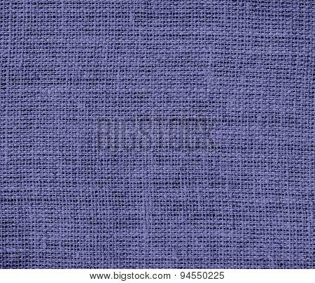 Dark blue-gray burlap texture background