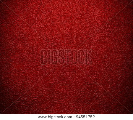 Dark candy apple red leather texture background