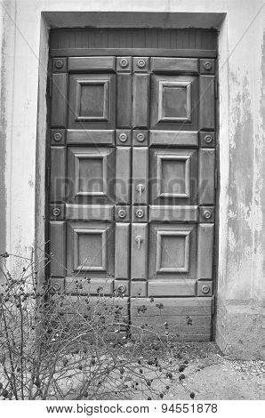 Antique Grunge Door