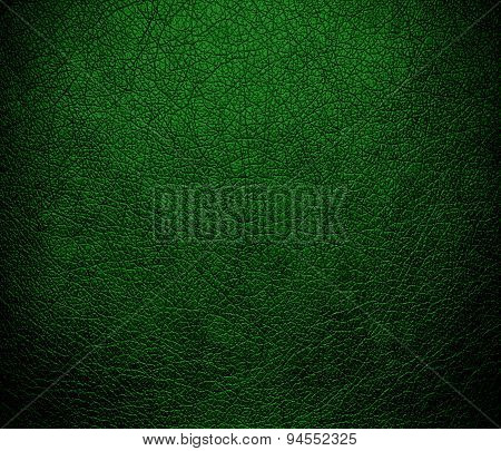 Dark green (X11) leather texture background