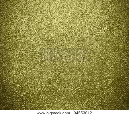 Dark khaki leather texture background