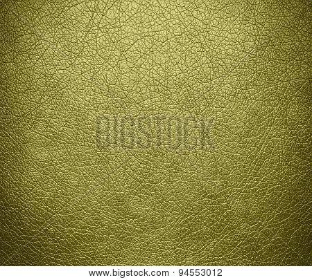 Dark khaki leather texture background