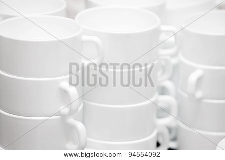 Set of mugs for tea ceremony tea drinking