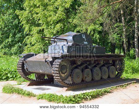 Easy tank Panzerkampfwagen II (Pz.Kpfw II), Germany, 1935-1943