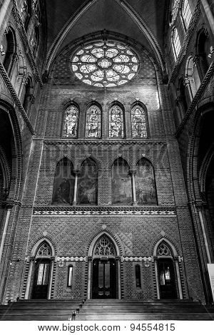 Inside Of Saint Catharine Church In Eindhoven