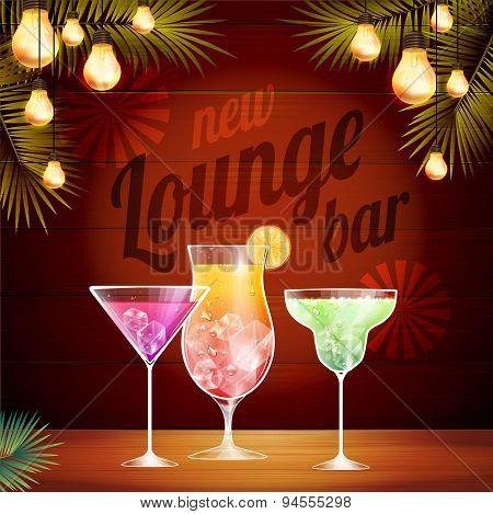 Vintage Poster. Lounge Club