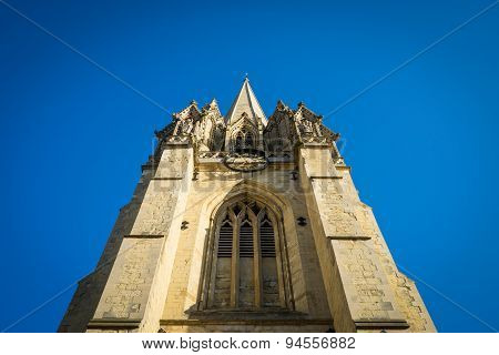 Church Steeple Blue Sky