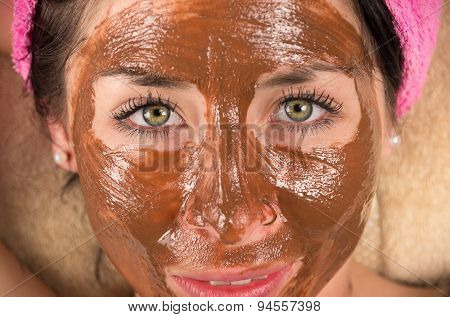 Woman facial cream