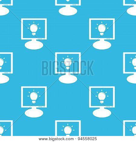 Light bulb monitor pattern