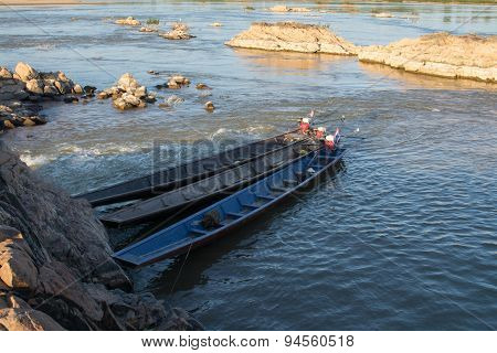 Boats In The River