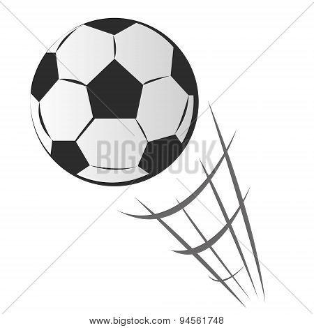 Speeding Soccer Ball Motion