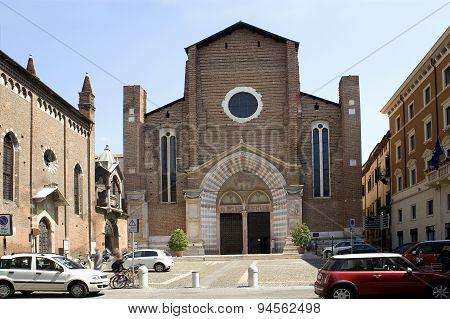 Cathedral Of Verona (ital. Duomo Di Verona).