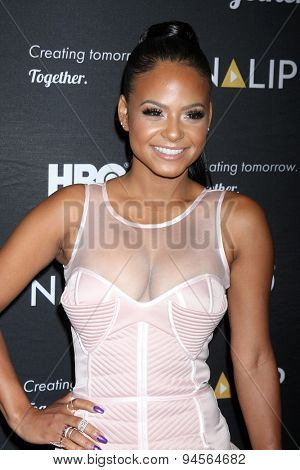 LOS ANGELES - JUN 27:  Christina Milian at the NALIP 16th Annual Latino Media Awards at the W Hollywood on June 27, 2015 in Los Angeles, CA