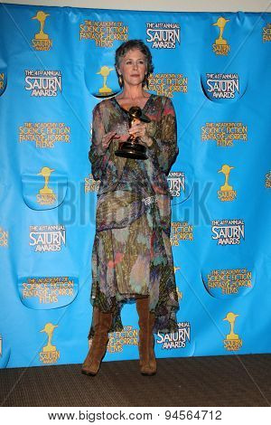 LOS ANGELES - JUN 25:  Melissa McBride at the 41st Annual Saturn Awards Press Room at the The Castaways on June 25, 2015 in Burbank, CA