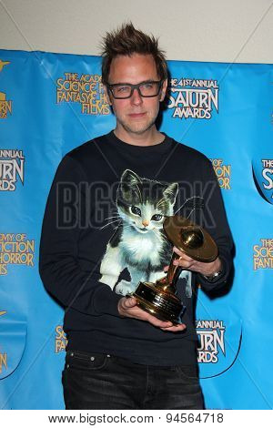 LOS ANGELES - JUN 25:  James Gunn at the 41st Annual Saturn Awards Press Room at the The Castaways on June 25, 2015 in Burbank, CA