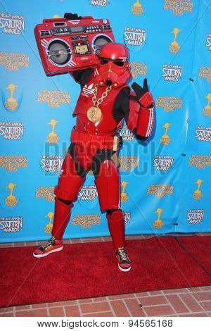 LOS ANGELES - JUN 25:  Cosplayer at the 41st Annual Saturn Awards Arrivals at the The Castaways on June 25, 2015 in Burbank, CA