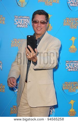 LOS ANGELES - JUN 25:  Dean Devlin at the 41st Annual Saturn Awards Arrivals at the The Castaways on June 25, 2015 in Burbank, CA