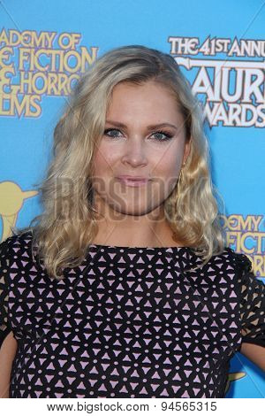 LOS ANGELES - JUN 25:  Eliza Taylor at the 41st Annual Saturn Awards Arrivals at the The Castaways on June 25, 2015 in Burbank, CA