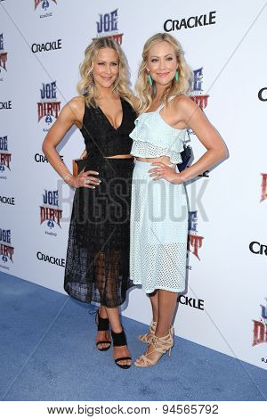 LOS ANGELES - JUN 24:  Cynthia Daniel, Brittany Daniel at the