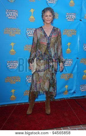 LOS ANGELES - JUN 25:  Melissa McBride at the 41st Annual Saturn Awards Arrivals at the The Castaways on June 25, 2015 in Burbank, CA