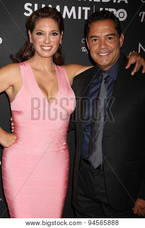 LOS ANGELES - JUN 27:  Alex Meneses, Carlos Gomez at the NALIP 16th Annual Latino Media Awards at the W Hollywood on June 27, 2015 in Los Angeles, CA