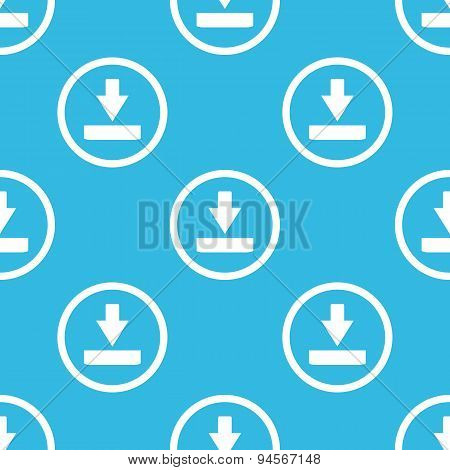 Download sign blue pattern
