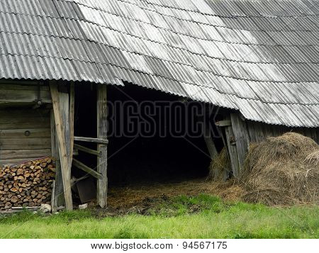 Old cattle-shed