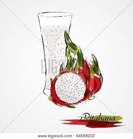 Pitahaya juice