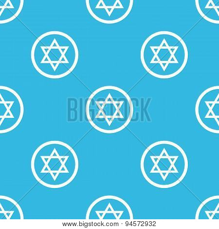 Star of David sign pattern
