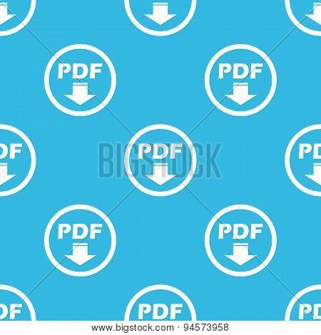 PDF download sign blue pattern
