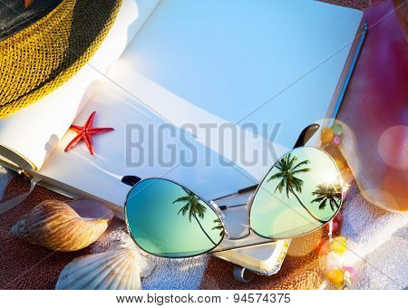 Art Summer Concept Of  Beach Holiday