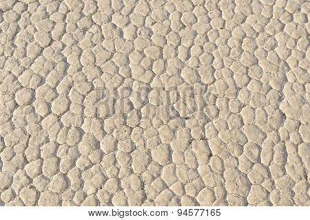Background texture of the ground. Racetrack, Death Valley