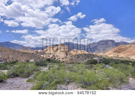 Red Rock Canyon, Nevada Scenic Landscape